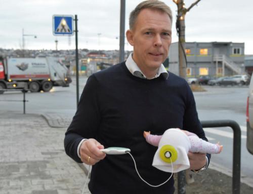 Tormod Thomsen i Cimon Medical vil måle blodstrømmen til hjernen hos nyfødte